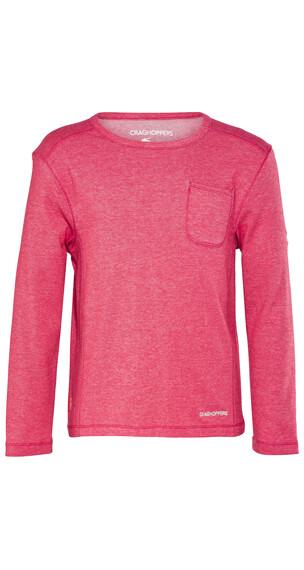 Craghoppers Nosilife Louise Shirt Børn pink